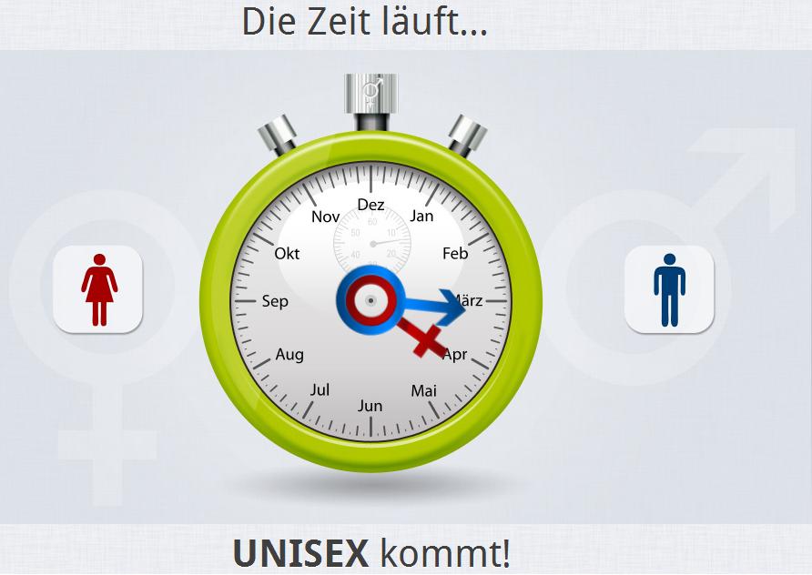 Unisex – verschoben?