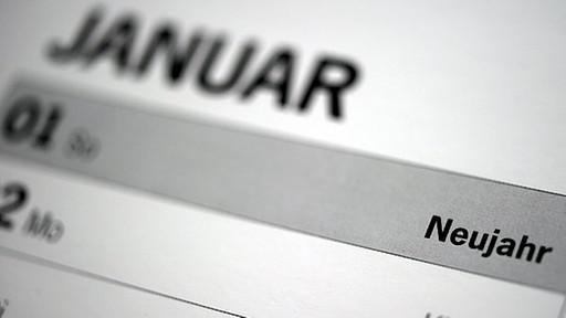 Wichtige Änderungen zum 01.01.2013