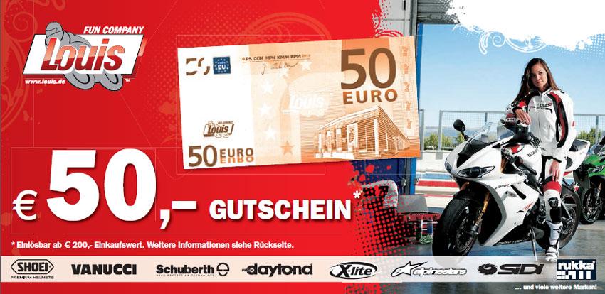 50€ Gutschein von Louis