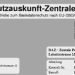 Seriös oder Abzocke? Die DAZ – Datenauskunftszentrale
